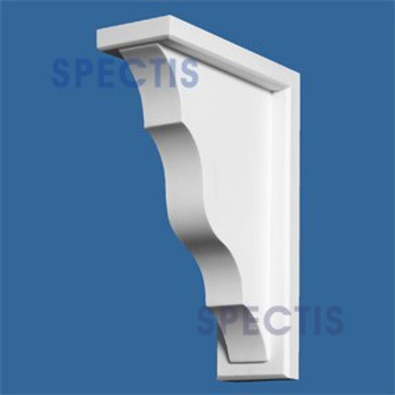 "BL2673 Corbel Block or Eave Bracket 3""W x 10.6""H x 7.5"" P"