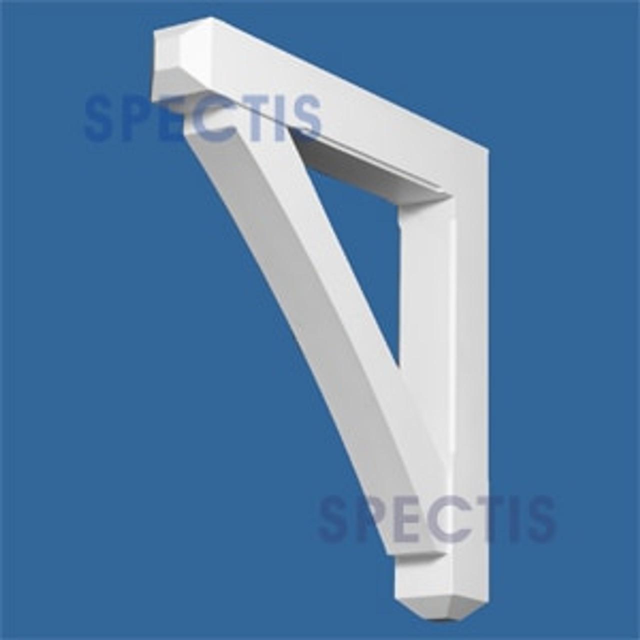 "BL2701 Corbel Block or Eave Bracket 3.5""W x 25""H x 25"" P"
