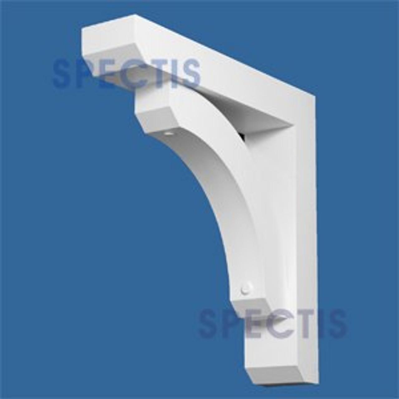 "BL2715 Corbel Block or Eave Bracket 6""W x 29""H x 29"" P"
