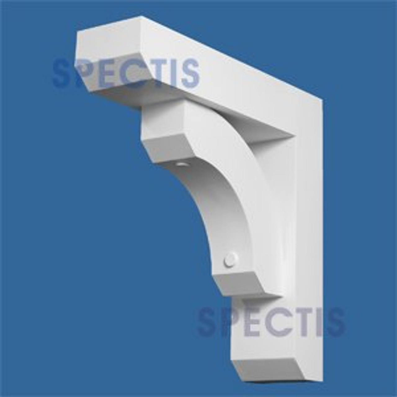 "BL2716 Corbel Block or Eave Bracket 6""W x 22.75""H x 22.75"" P"