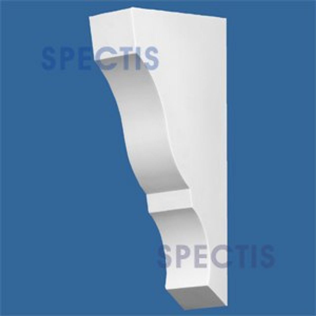"BL2773 Corbel Block or Eave Bracket 3""W x 11.25""H x 18"" P"