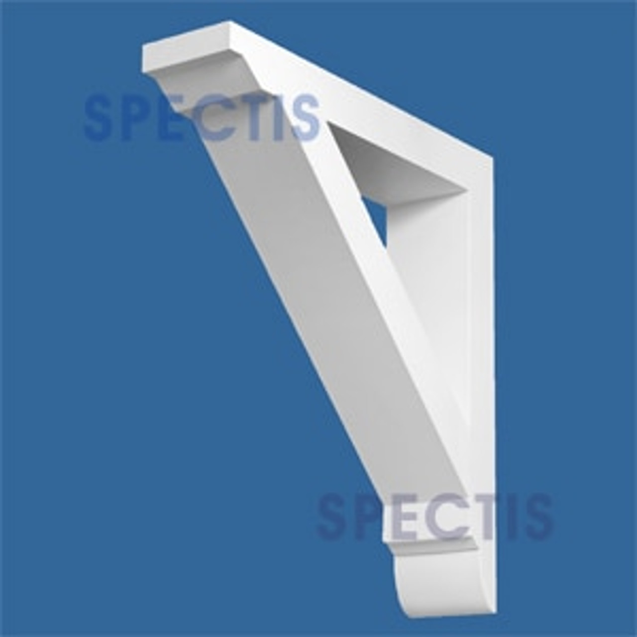 "BL2777 Corbel Block or Eave Bracket 5.5""W x 26""H x 24"" P"