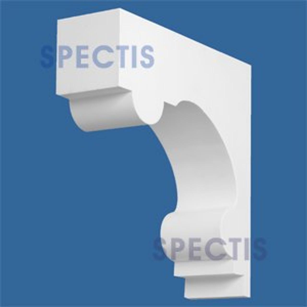 "BL2787 Corbel Block or Eave Bracket 3.5""W x 11.75""H x 11.5"" P"