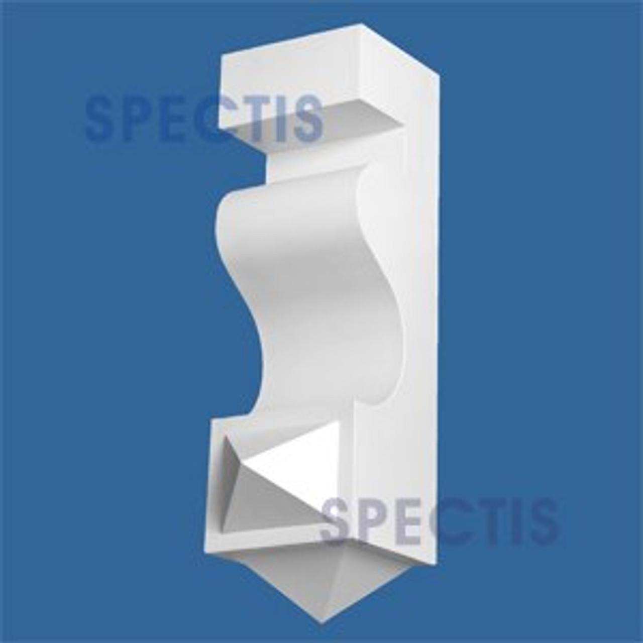 "BL2798 Corbel Block or Eave Bracket 7.5""W x 25.8""H x 7.1"" P"