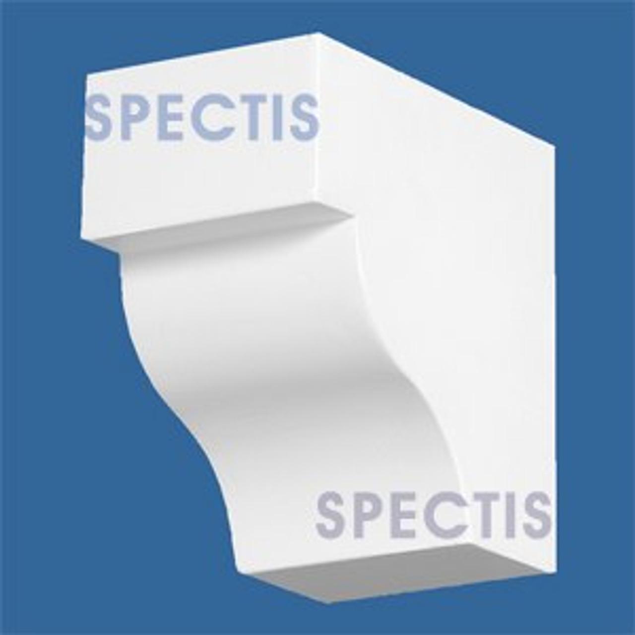 "BL2839 Corbel Block or Eave Bracket 3""W x 4.75""H x 4.75"" P"