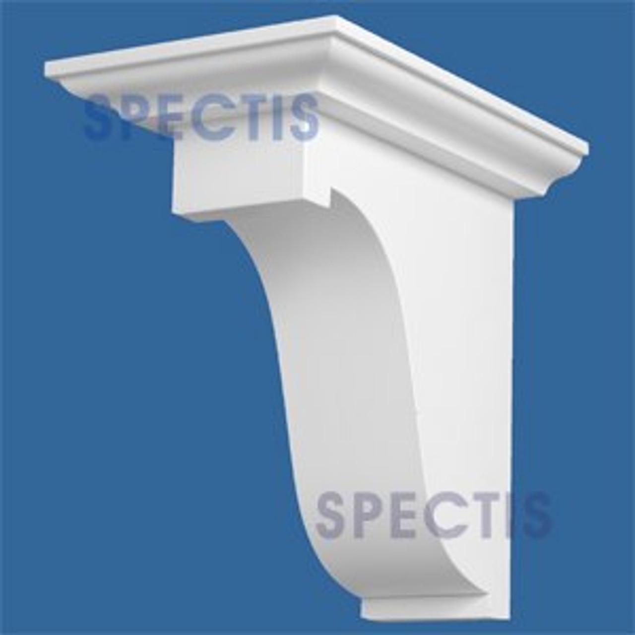 """BL2846L-15/12 Pitch Eave Block/Bracket 3.5""""W x 23.5""""H x 11.25"""" P"""