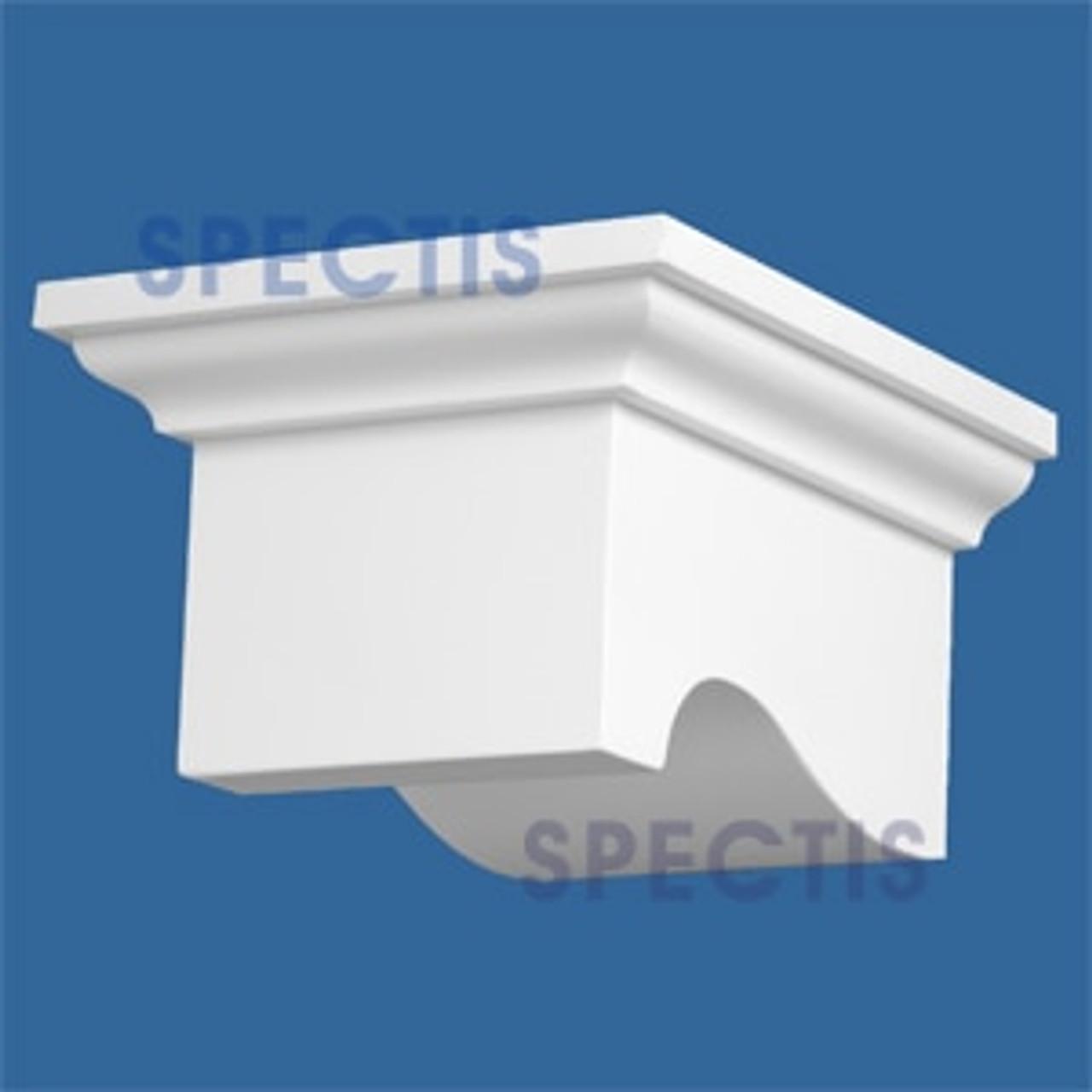 "BL2848 Corbel Block or Eave Bracket 8""W x 5.3""H x 9.5"" P"