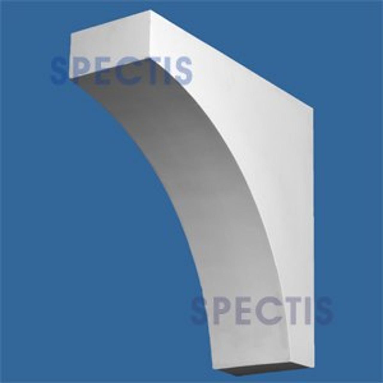 "BL2853 Corbel Block or Eave Bracket 8""W x 24""H x 24"" P"