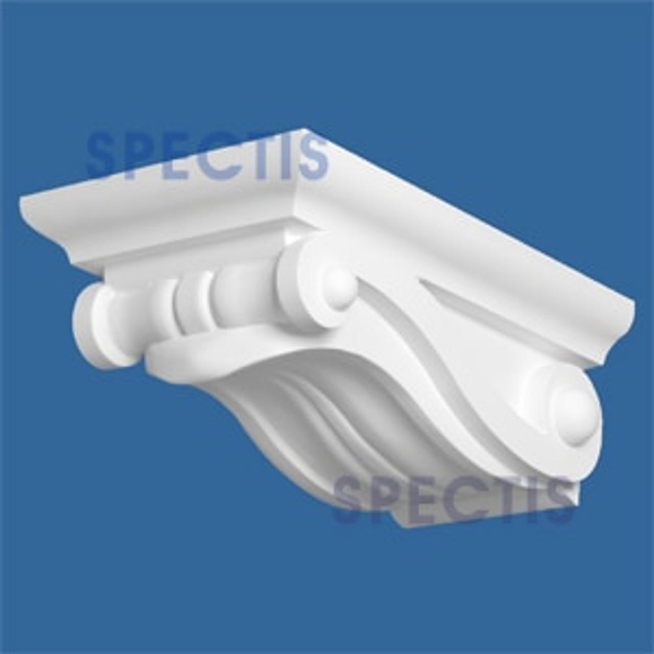 "BL2854 Corbel Block or Eave Bracket 9.75""W x 6""H x 15.9"" P"