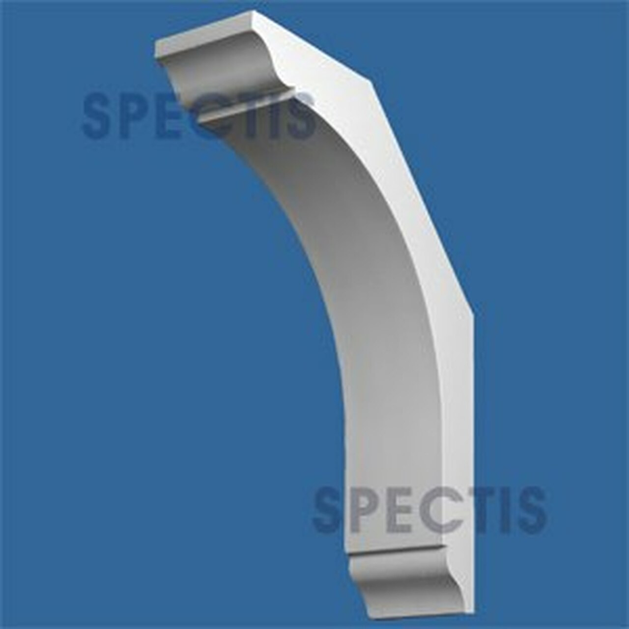 "BL2859 Corbel Block or Eave Bracket 5.5""W x 24""H x 18"" P"