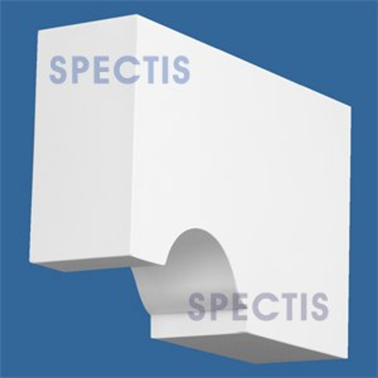 "BL2860 Corbel Block or Eave Bracket 2.75""W x 6.5""H x 9.5"" P"