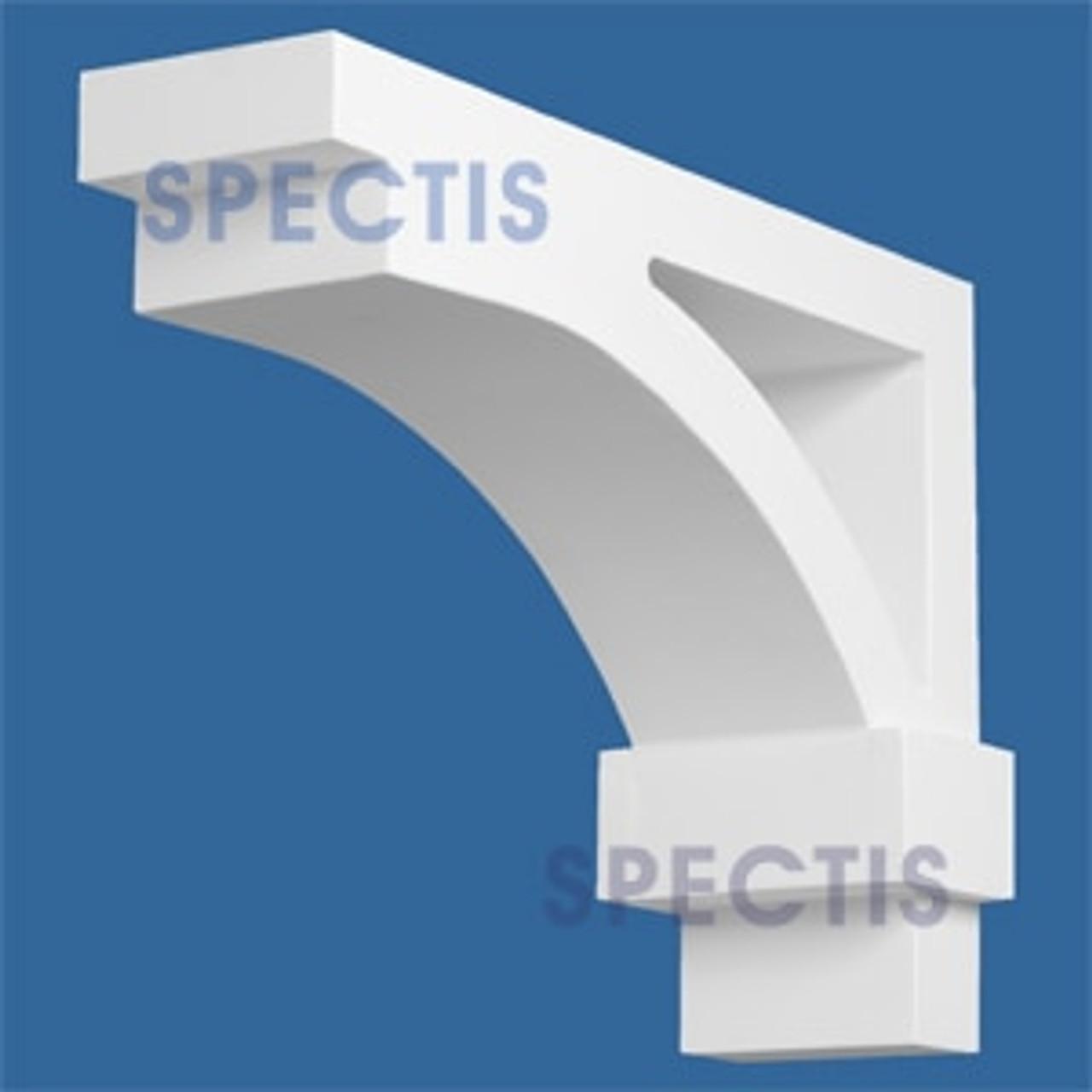 "BL2863 Corbel Block or Eave Bracket 4.5""W x 10""H x 14"" P"