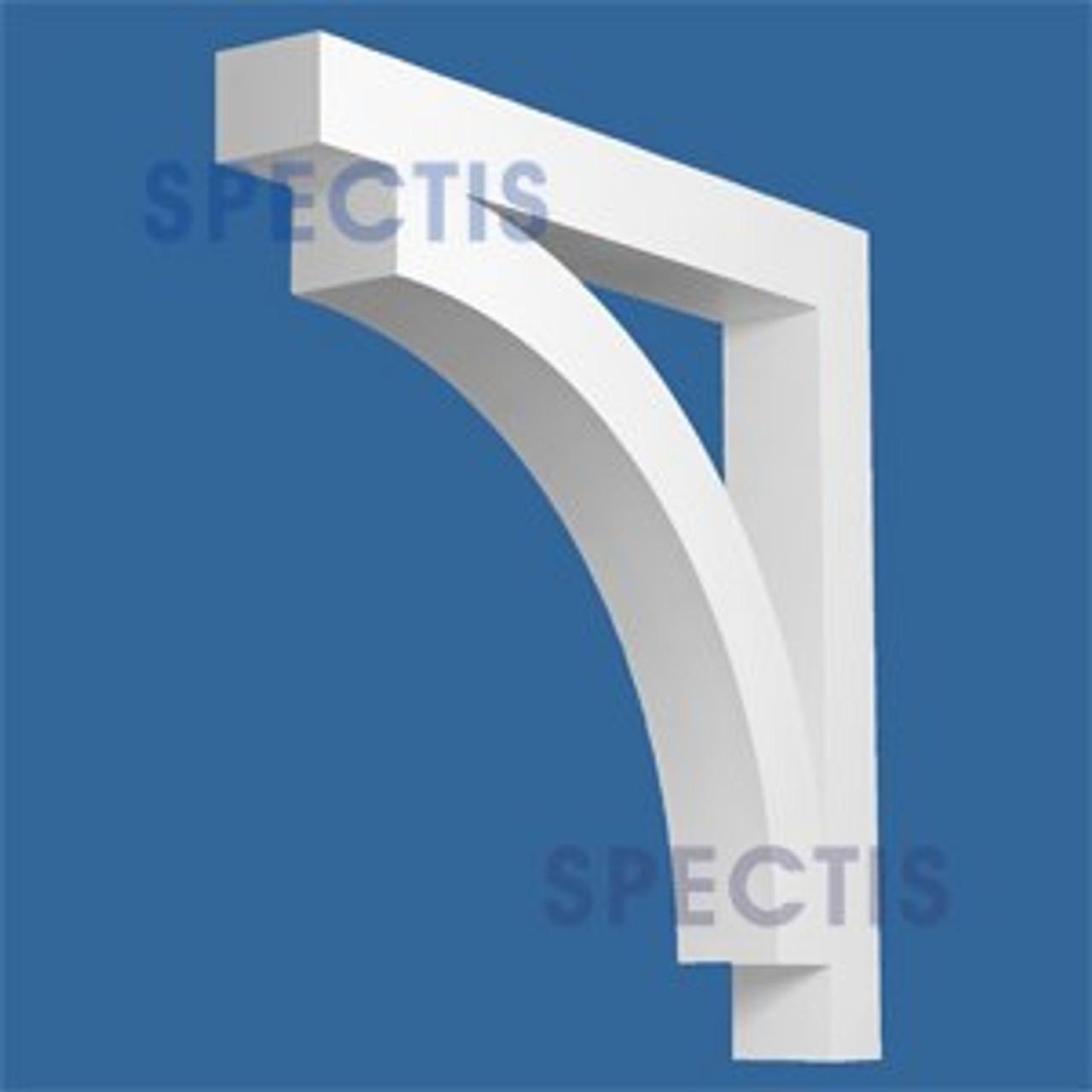 "BL2868 Corbel Block or Eave Bracket 5""W x 36""H x 36"" P"