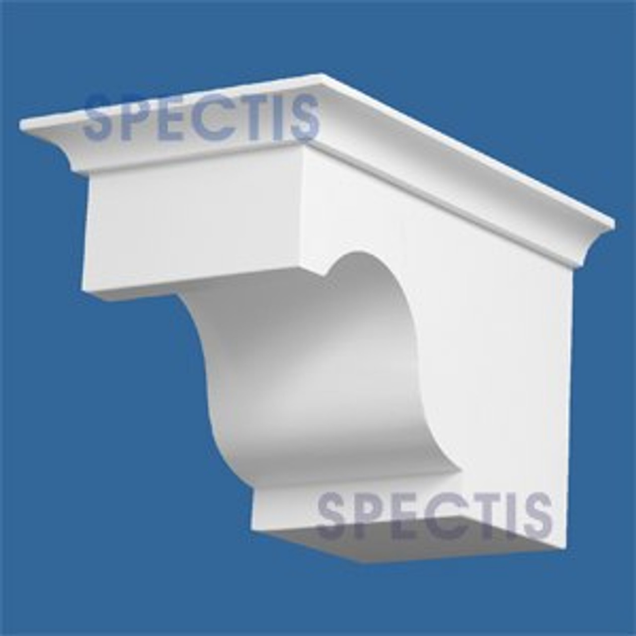 "BL2871 Corbel Block or Eave Bracket 5.75""W x 5.75""H x 9.5"" P"