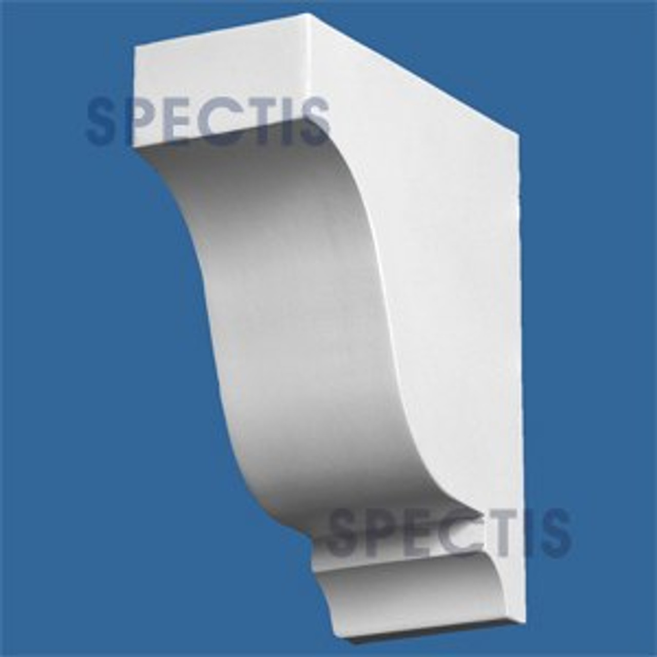 "BL2878 Corbel Block or Eave Bracket 2.25""W x 5.9""H x 5"" P"