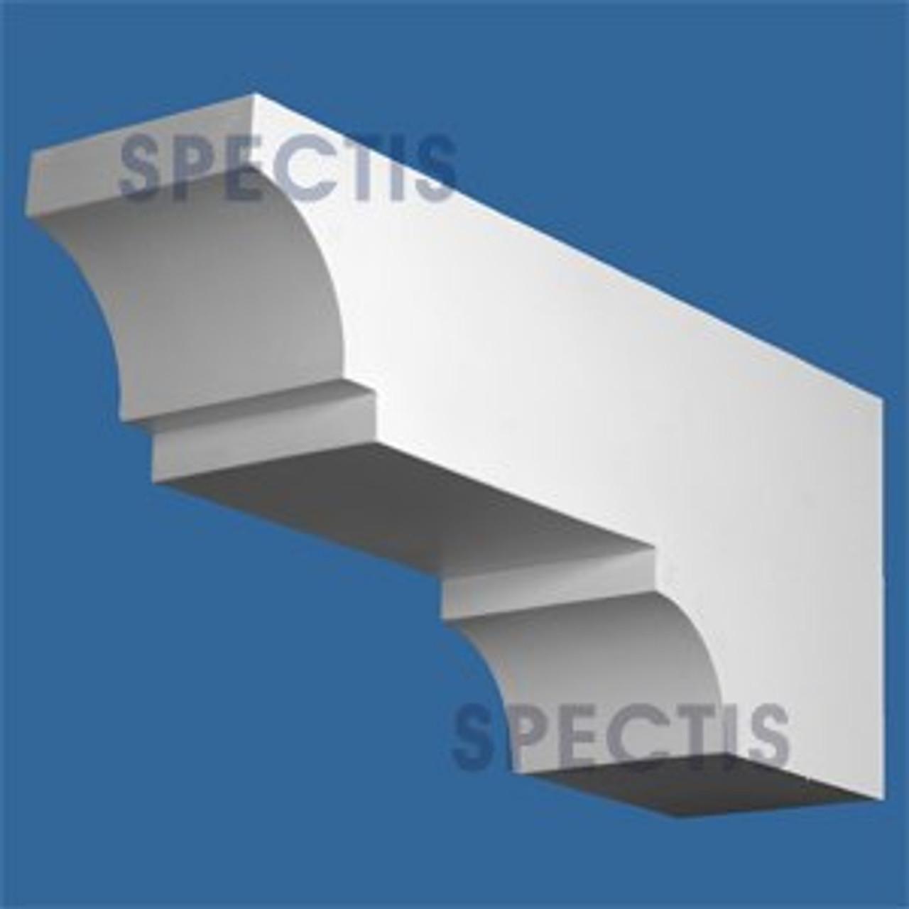 "BL2880 Corbel Block or Eave Bracket 6""W x 24""H x 10"" P"