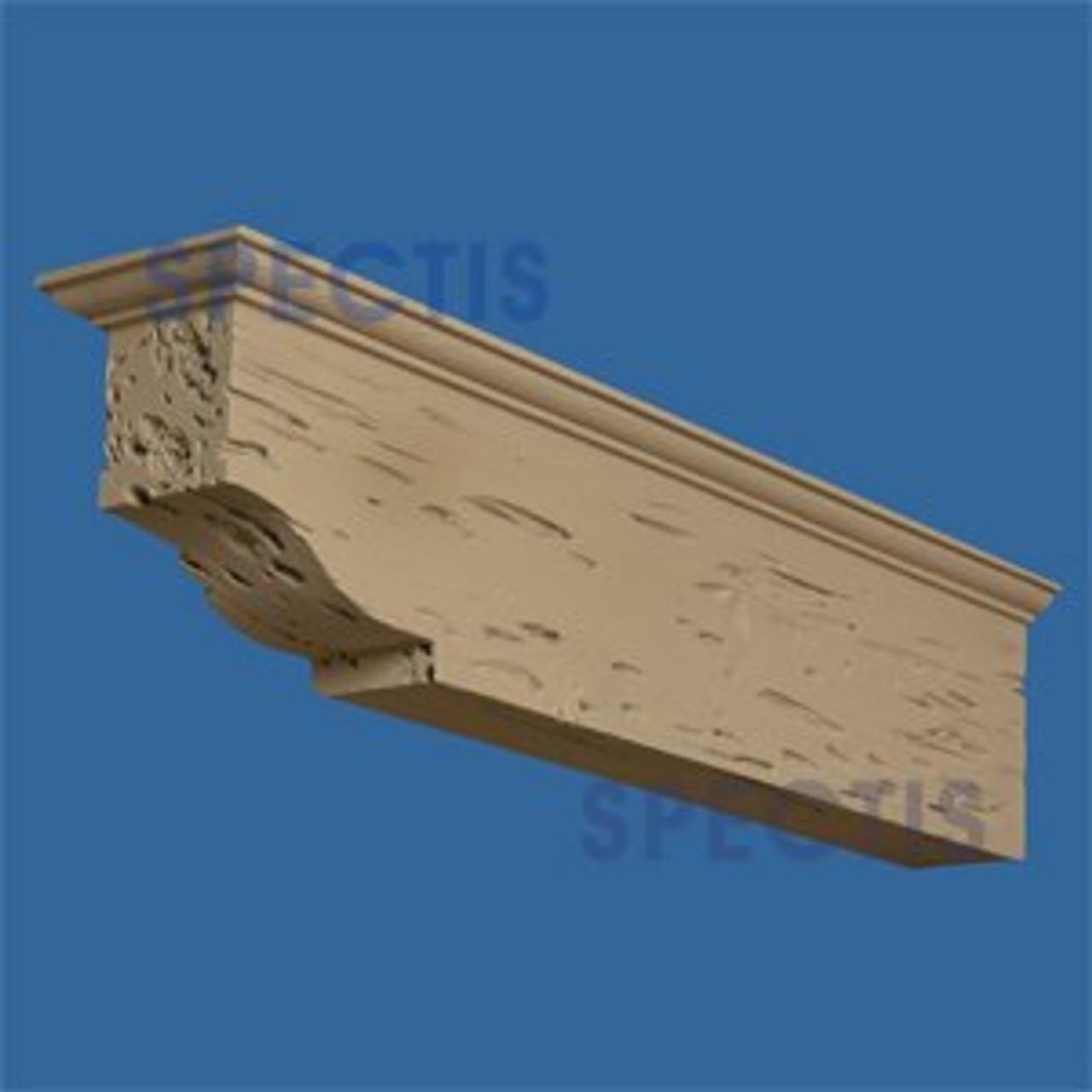 "BL2889PC Corbel Block or Eave Bracket 6.5""W x 8.75""H x 35"" P"