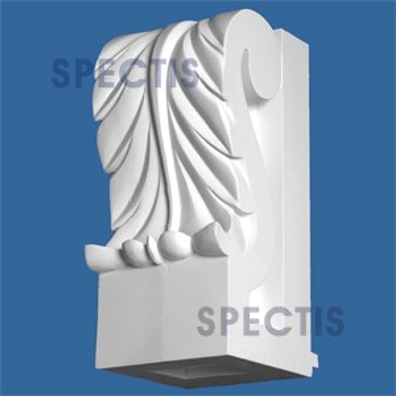 "BL2895 Corbel Block or Eave Bracket 7.6""W x 9.75""H x 17.75"" P"