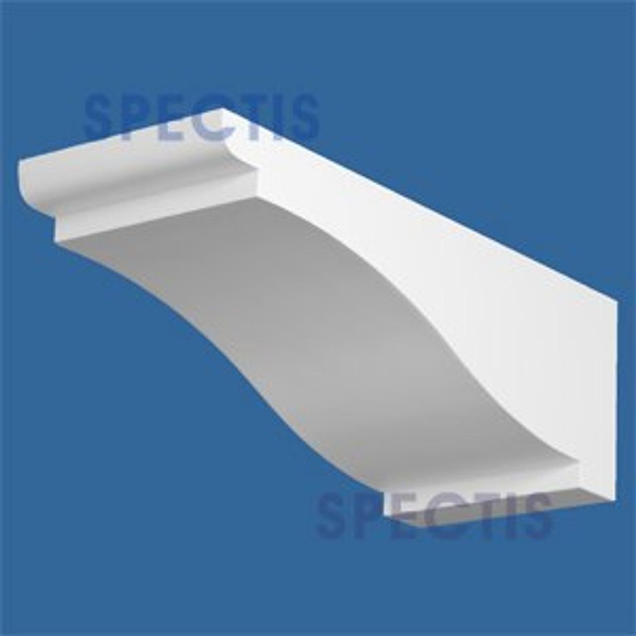"BL2901 Corbel Block or Eave Bracket 7.25""W x 6.25""H x 18.5"" P"