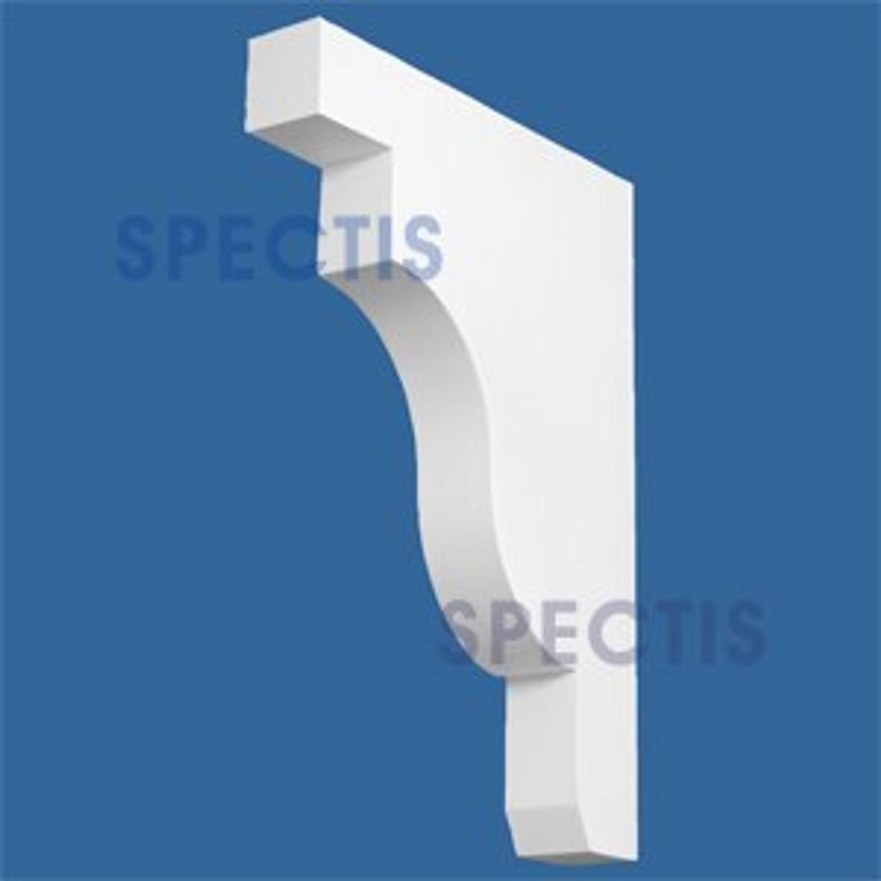 "BL2906 Corbel Block or Eave Bracket 3""W x 24""H x 18"" P"