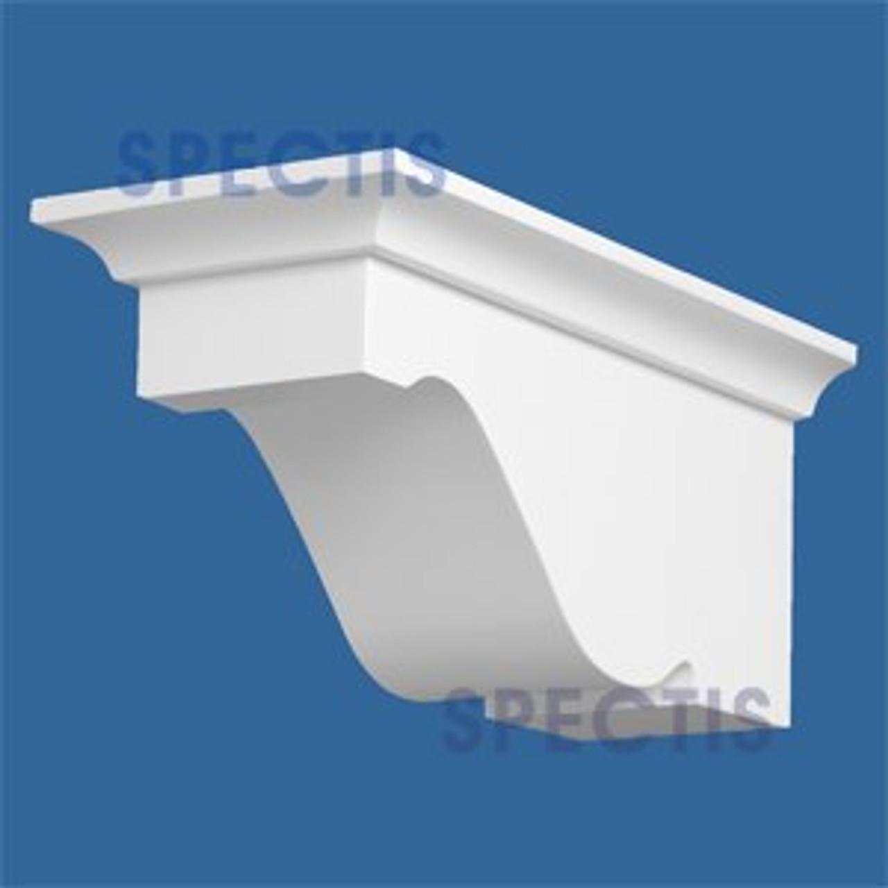 "BL2911 Corbel Block or Eave Bracket 5.5""W x 5.5""H x 12"" P"