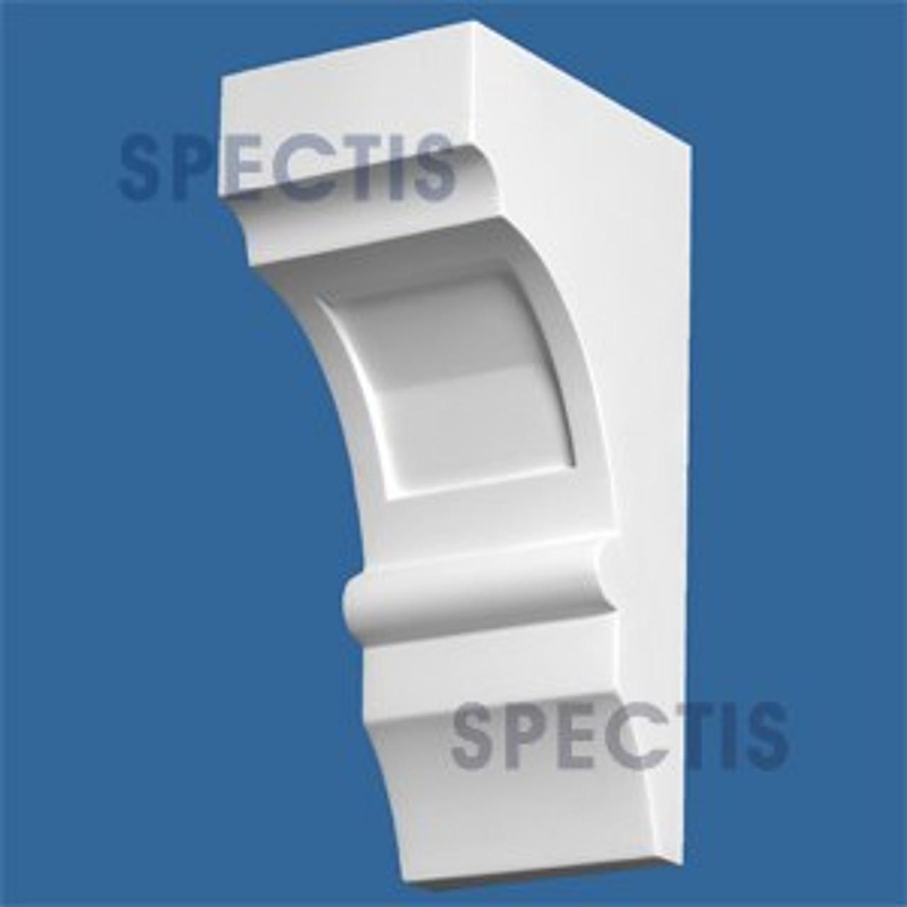 "BL2930 Corbel Block or Eave Bracket 4""W x 10""H x 5.5"" P"