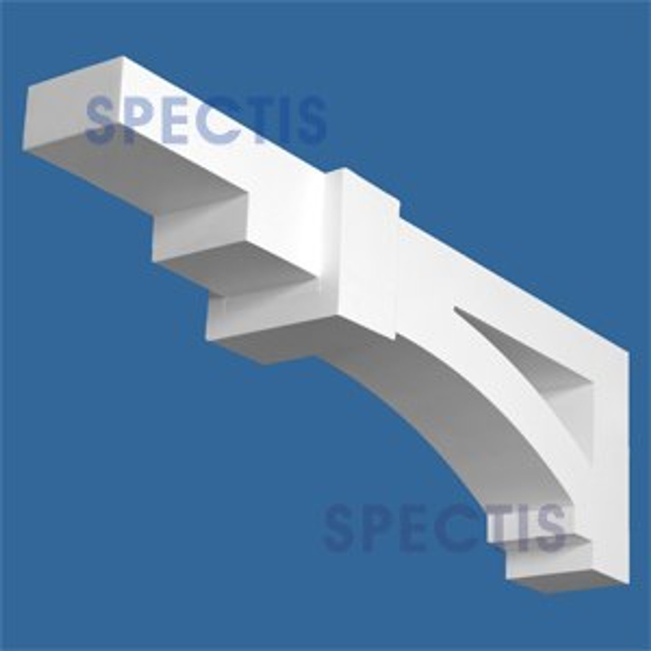 "BL2942 Corbel Block or Eave Bracket 5.25""W x 28.25""H x 9"" P"