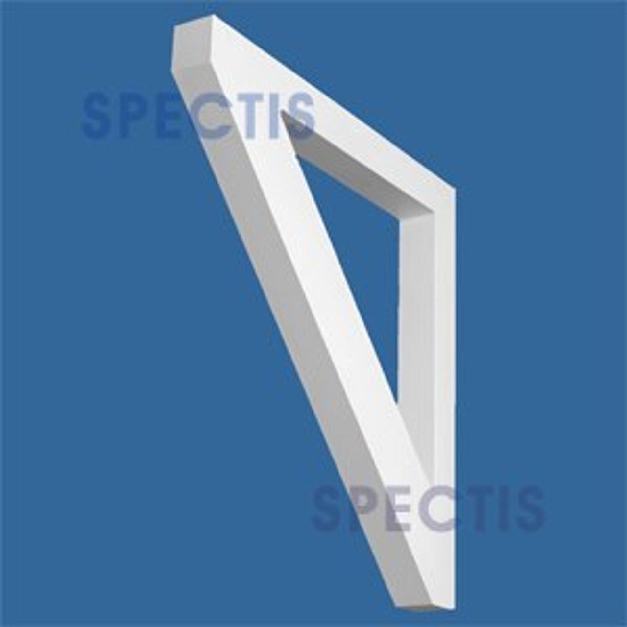 "BL2943 Corbel Block or Eave Bracket 2.5""W x 25.25""H x 24"" P"