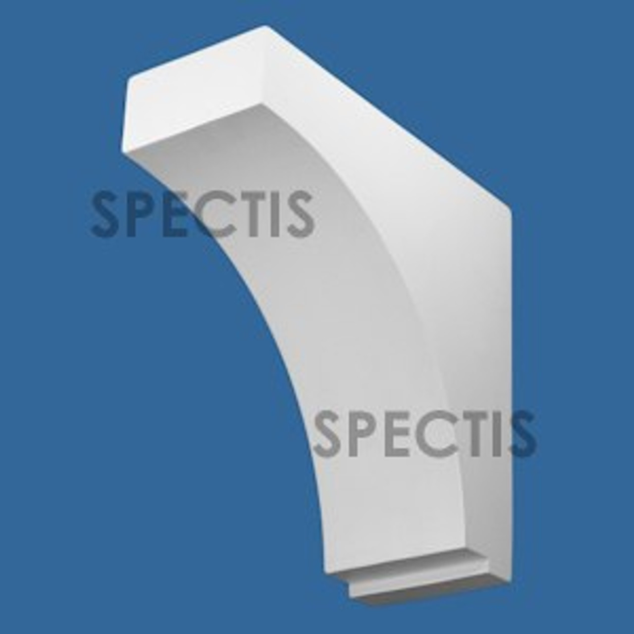 """BL2978 Spectis Eave Block or Bracket 6""""W x 15""""H x 15"""" Projection"""