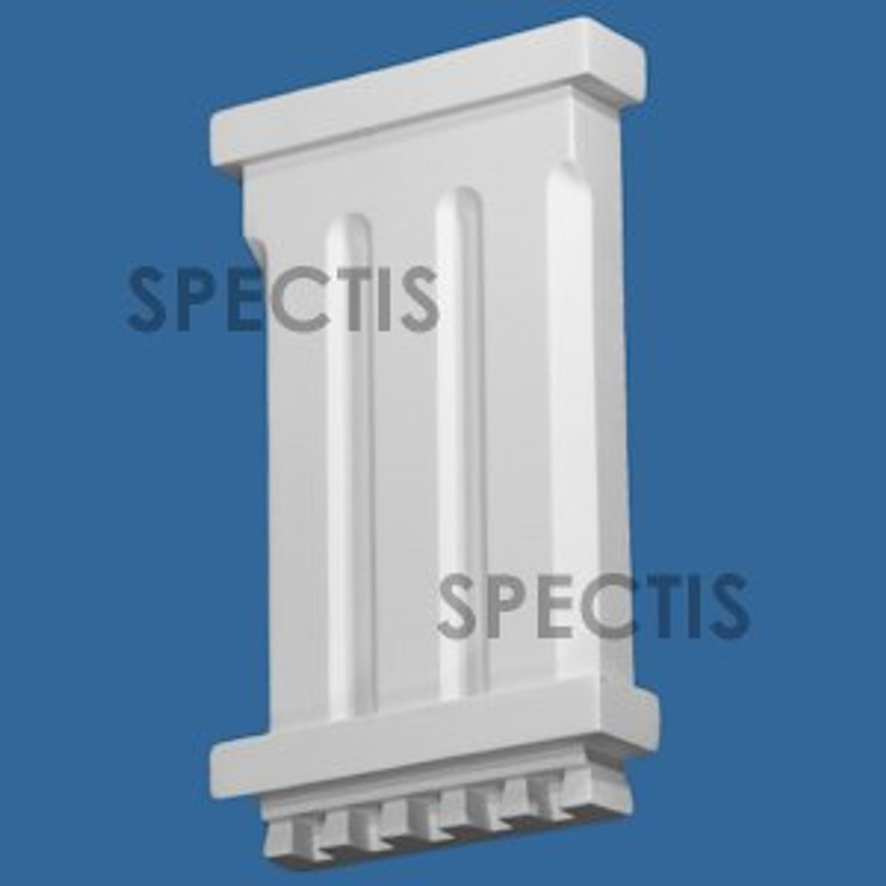"""BL2983 Spectis Eave Block or Bracket 6""""W x 10.13""""H x 1.38"""" Projection"""