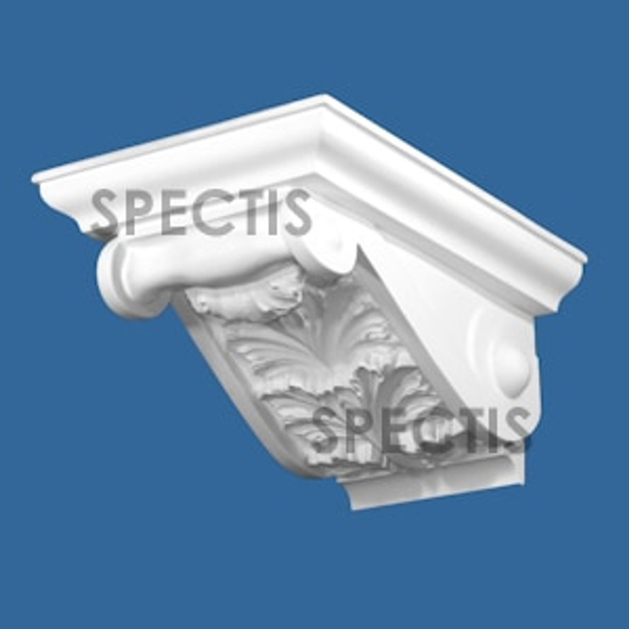"""BL3061 Spectis Eave Block or Bracket 9.25""""W x 6""""H x 11.13"""" Projection"""