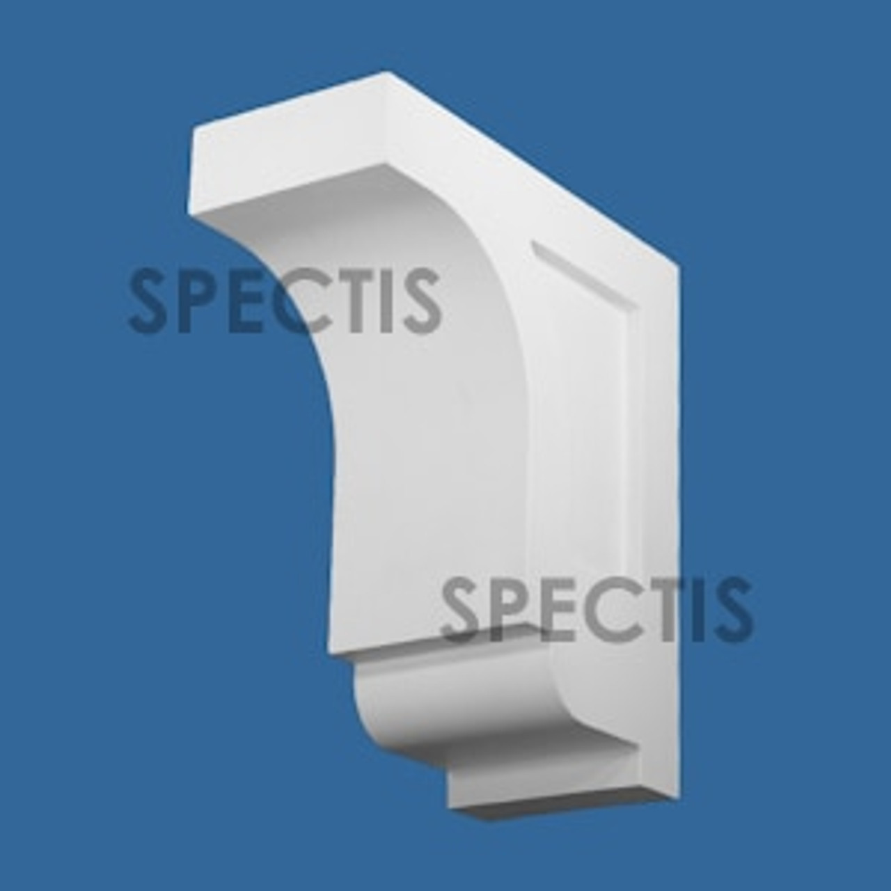 """BL3078 Spectis Eave Block or Bracket 6""""W x 15.13""""H x 14"""" Projection"""