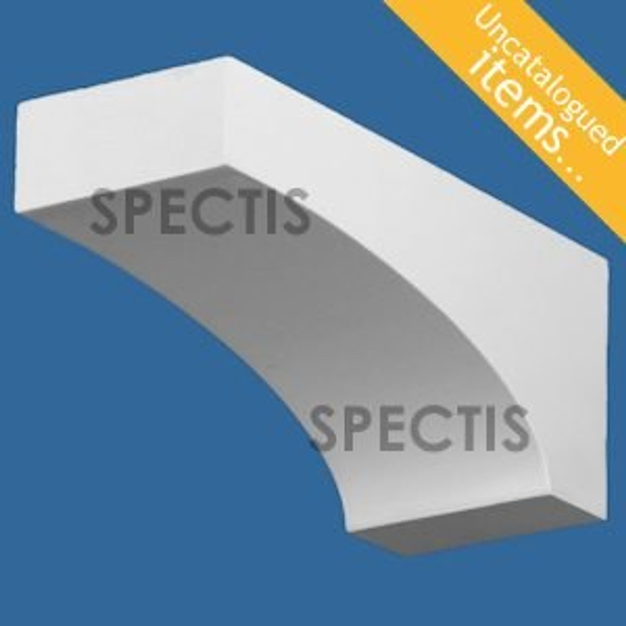 """BL3014 Spectis Eave Block or Bracket 3.5""""W x 4""""H x 9.25"""" Projection"""