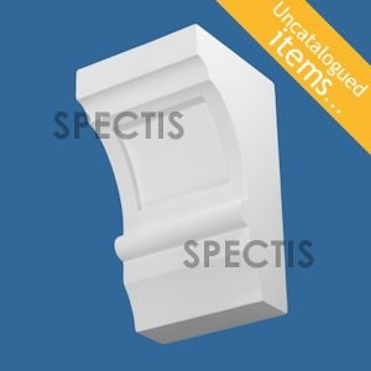 """BL3016 Spectis Eave Block or Bracket 8""""W x 14""""H x 8"""" Projection"""