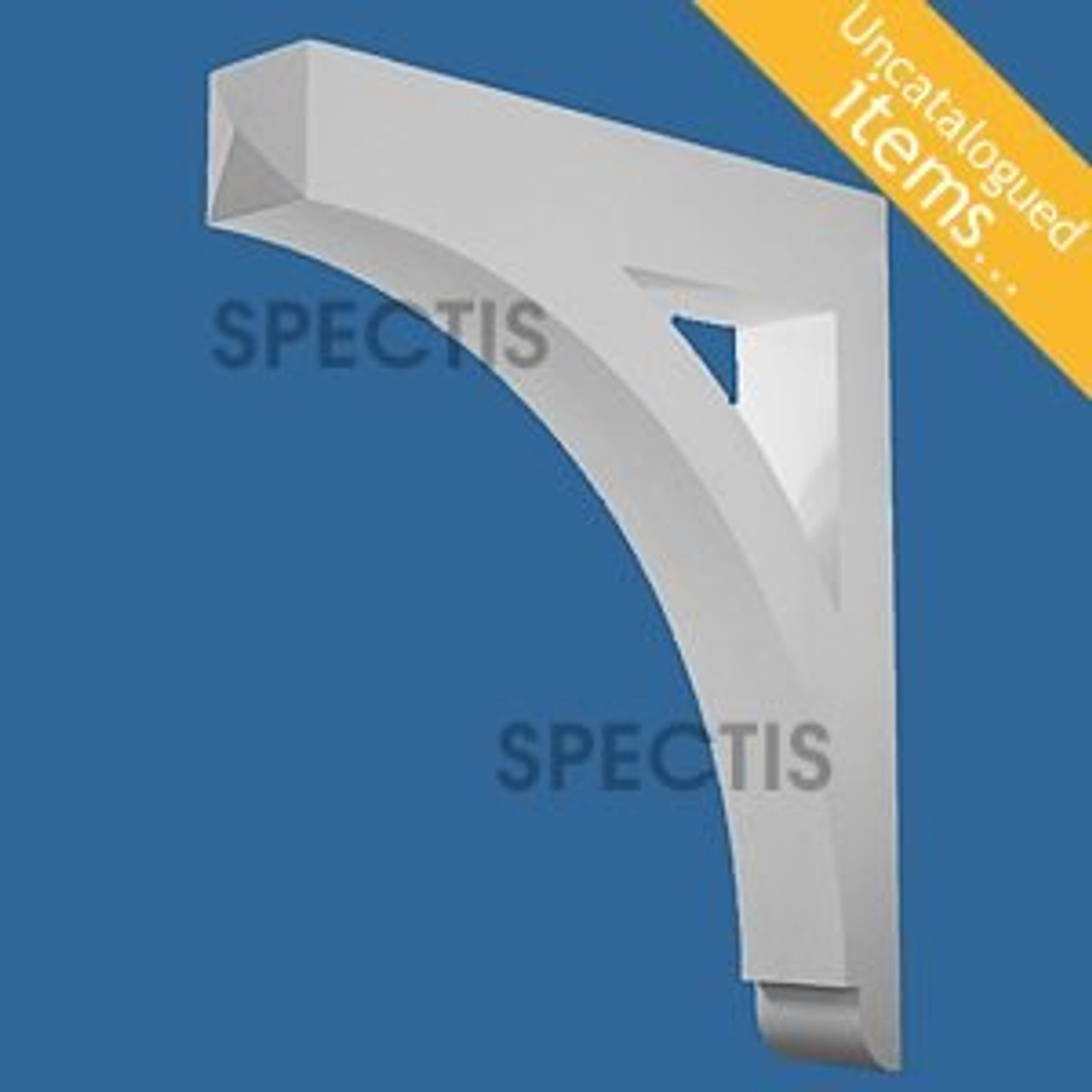 """BL3017 Spectis Eave Block or Bracket 6""""W x 40""""H x 35"""" Projection"""