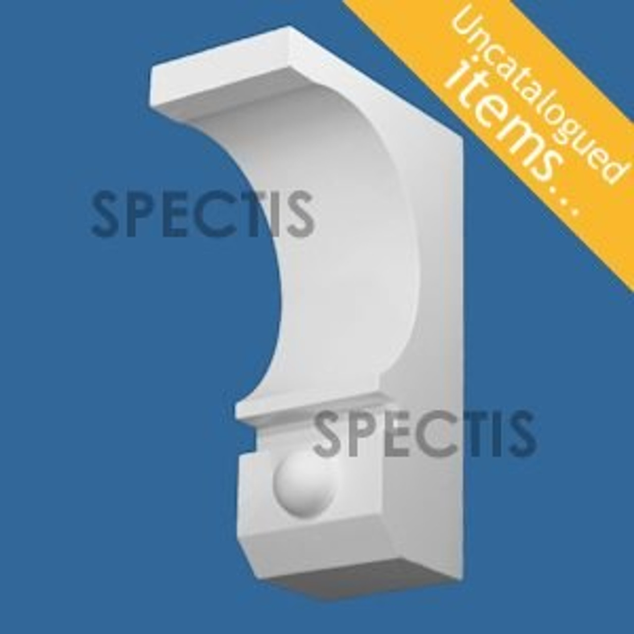 """BL3019 Spectis Eave Block or Bracket 5""""W x 14""""H x 9.25"""" Projection"""