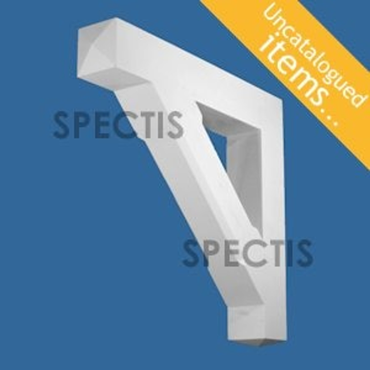 """BL3034 Spectis Eave Block or Bracket 5.5""""W x 34.75""""H x 32.75"""" Projection"""