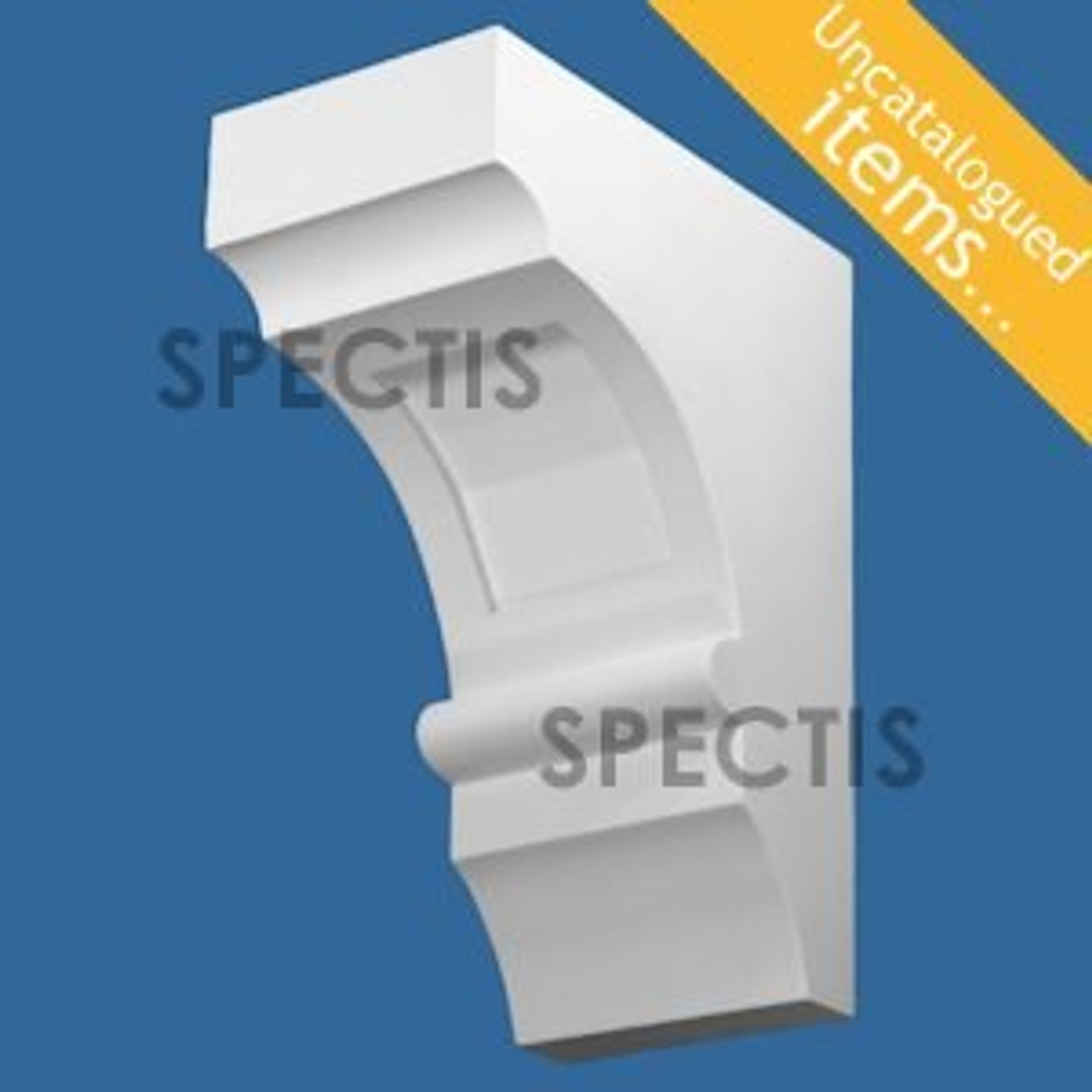 "BL3038 Spectis Eave Block or Bracket 6""W x 14""H x 10.5"" Projection"