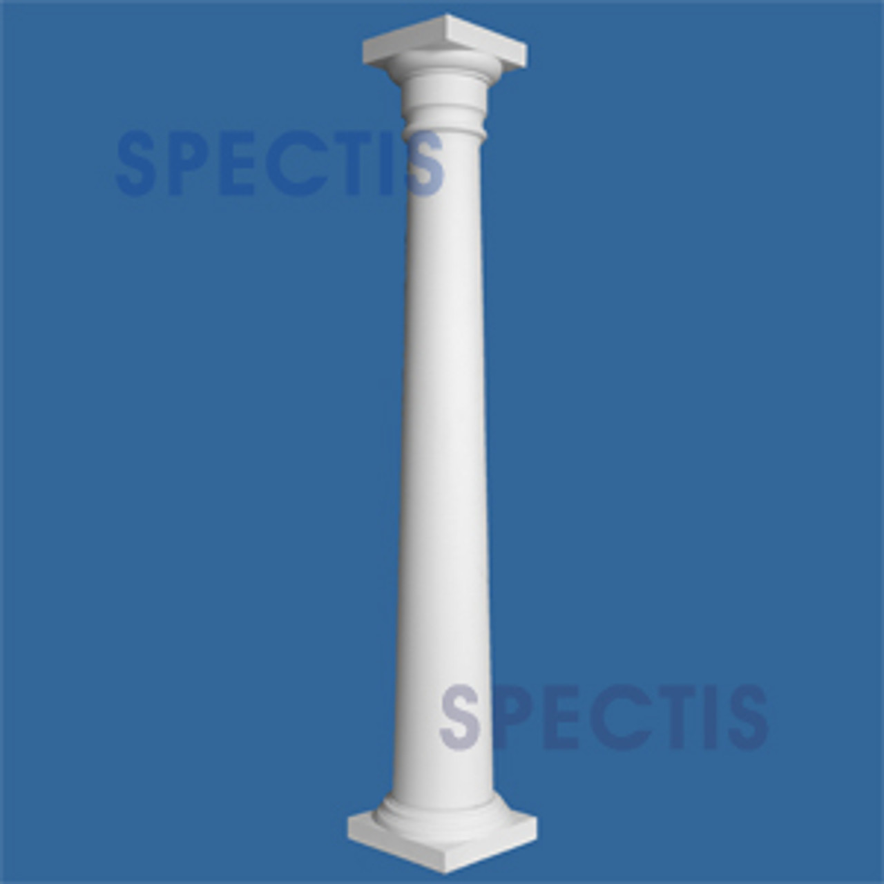 """CLM100-12-10 Smooth Tapered Column 12"""" x 120"""""""