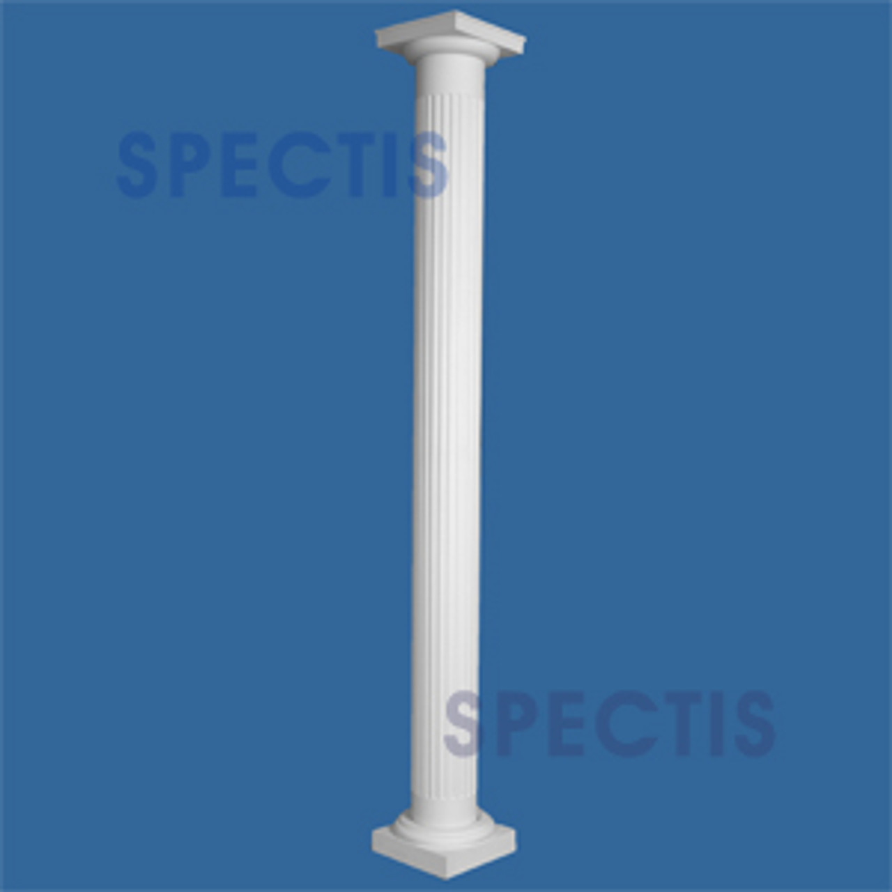"CLM230-8-12S Fluted Straight Column 8"" x 144"" STRUCTURAL"