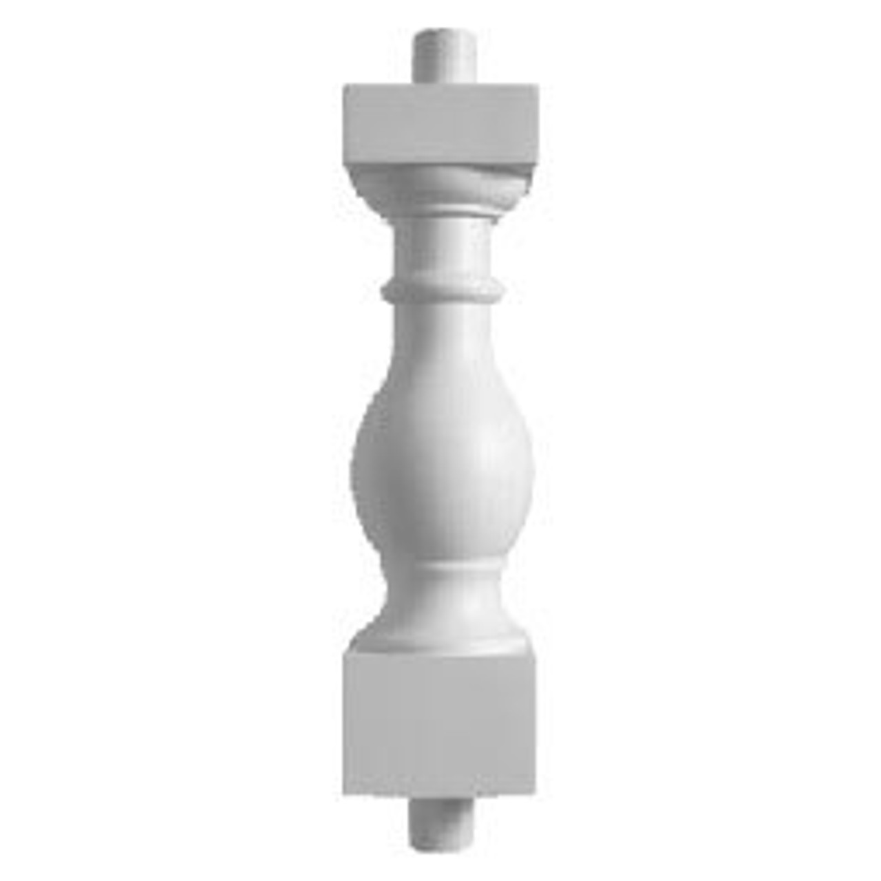 """BAL2027-29EXT32FS Fossil Stone Baluster 5 1/4""""W X 32""""H"""