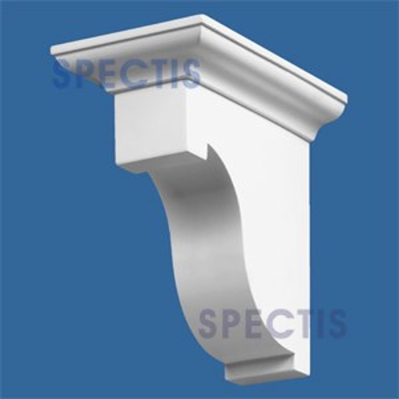 "BL2462 Corbel Block or Eave Bracket 5""W x 8""H x 8"" P"