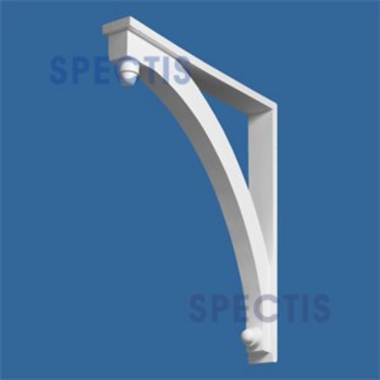 "BL2465-28 Corbel Block or Eave Bracket 3.5""W x 30""H x 28"" P"