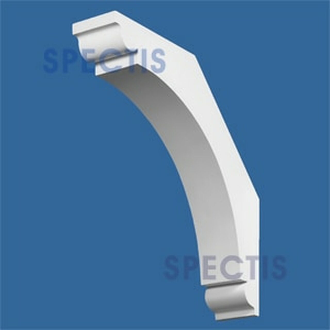 "BL2503 Corbel Block or Eave Bracket 6.1""W x 30.2""H x 30.2"" P"