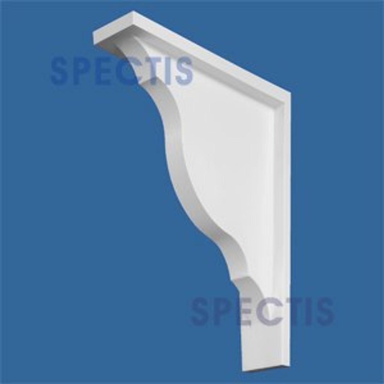 "BL2505 Corbel Block or Eave Bracket 3.5""W x 19""H x 15"" P"