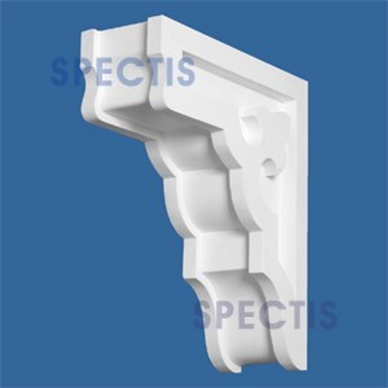 "BL2510C Corbel Block or Eave Bracket 5.75""W x 17.75""H x 15"" P"