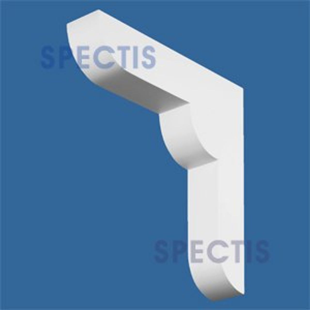 "BL2513 Corbel Block or Eave Bracket 4""W x 20""H x 20"" P"