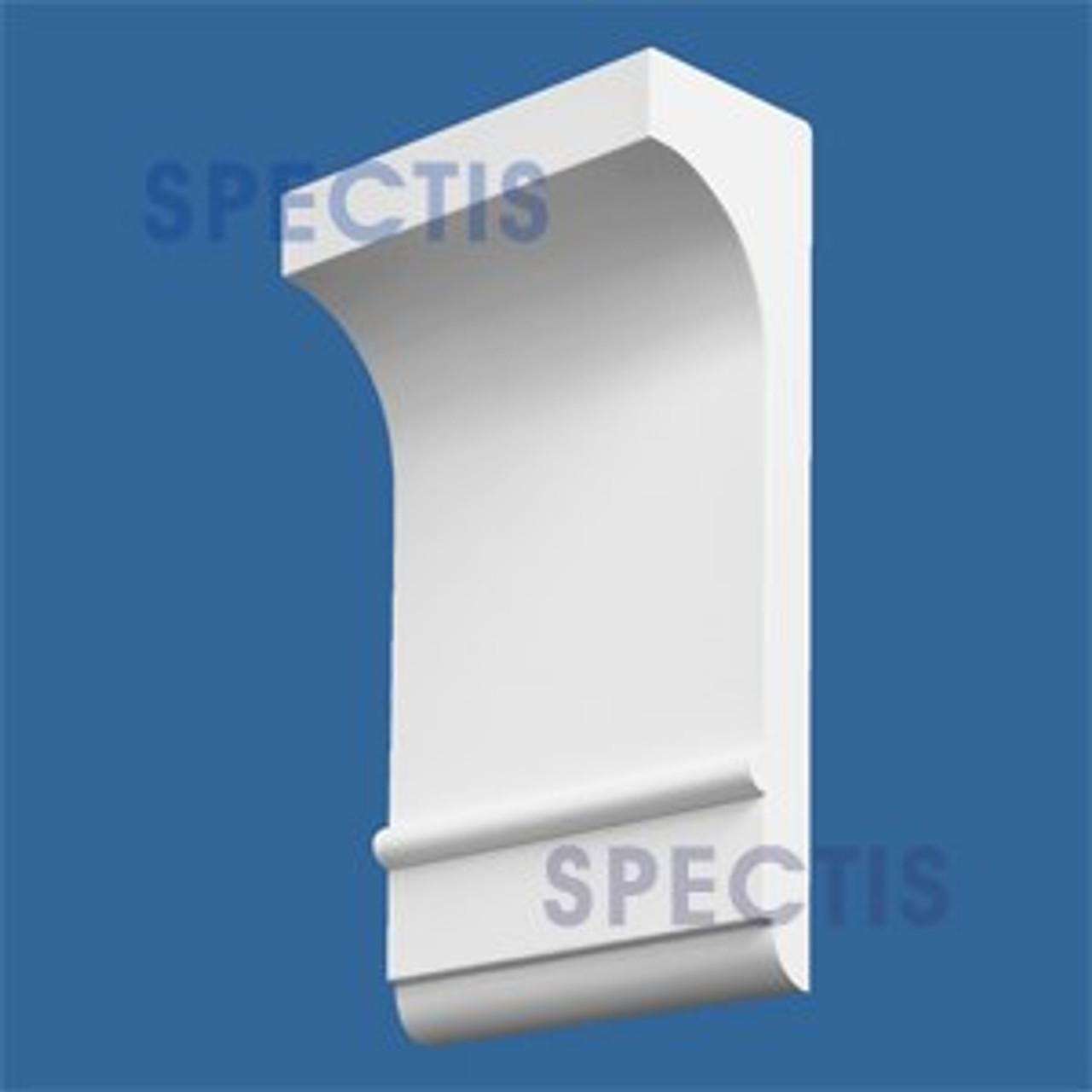"BL2527 Corbel Block or Eave Bracket 8.12""W x 14.5""H x 4.5"" P"