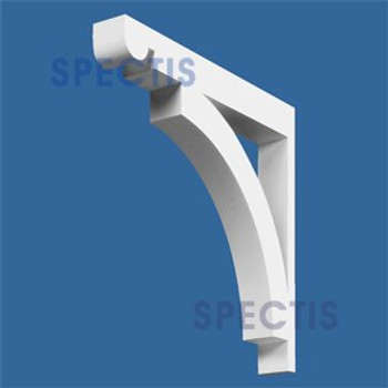 "BL2555 Corbel Block or Eave Bracket 3.5""W x 27.5""H x 30.5"" P"