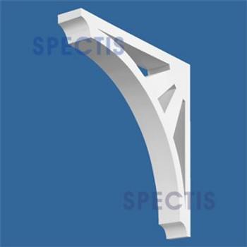 "BL2561 Corbel Block or Eave Bracket 4""W x 26""H x 26"" P"